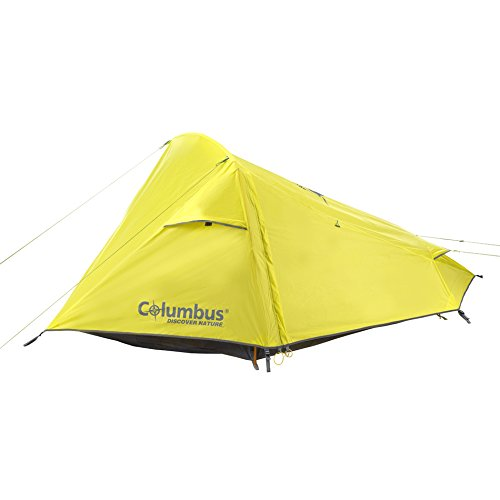 COLUMBUS Tajo Tente de Camping Mixte Adulte, Jaune, Unique