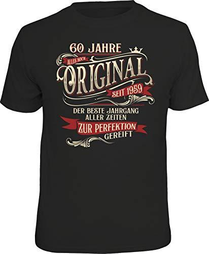 Das Geschenk T-Shirt zum 60. Geburtstag: 60 Jahre zur Perfektion gereift M Nr.6318