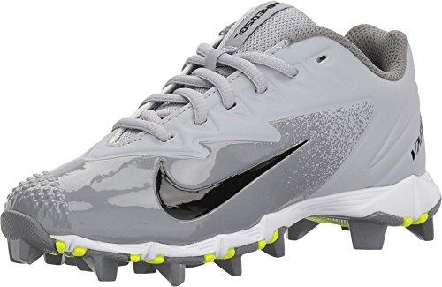 Nike Boy's VPR Ultrafly Keystone BG Baseball Cleat 856494-012, Wolf Grey/White-Cool Grey, 3.5 M US Big Kid