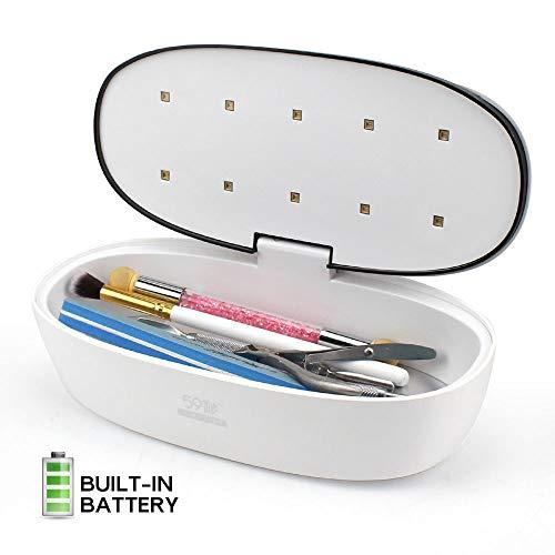 Jackeylove Tragbare Desinfektionsbox UV + Ozon 99% UV keimtötende Lampe Desinfektionsschrank Aufbewahrungsbox gegen Gebühr
