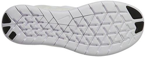 Nike Free Rn 2017, Scarpe Running Uomo Bianco (White/white-black-pure Platinum)