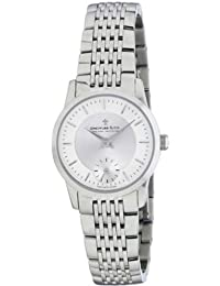 Dreyfuss Womens Quartz Watch, Chronograph Display and Stainless Steel Strap DLB00001/02