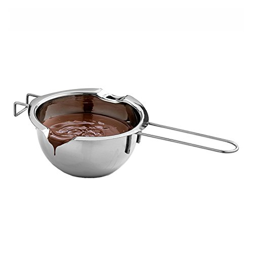 Dastrues Acier inoxydable Chocolat Melting Pot Four...
