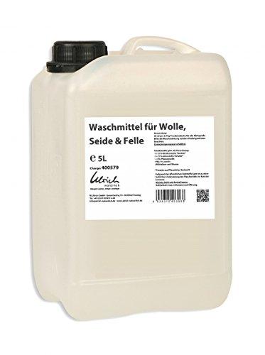 Waschmittel Wolle, Seide und Felle 5 Liter, rückfettend