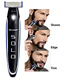 TECHICON Solo Rechargeable Full Body Cordless Smart Beard Trimmer and Razor Shaver