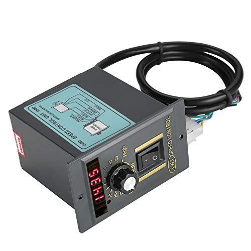 Digitaler einstellbarer stufenloser Motordrehzahlregler 15W, 60W, 120W, 250W, 400W,AC 220V 50Hz,0-1450 U/min,Unterstützung der CW/CCW-Rotation(250 W) -