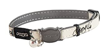 Rogs Catz GlowCat Collier pour chat Black Cat