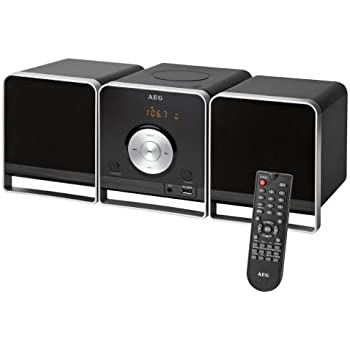aeg mc 4459 bt mini chaine hifi bluetooth high tech. Black Bedroom Furniture Sets. Home Design Ideas