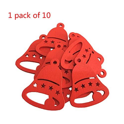 ZOOMY 10 Piezas/Paquete Sombrero Navidad Creativo