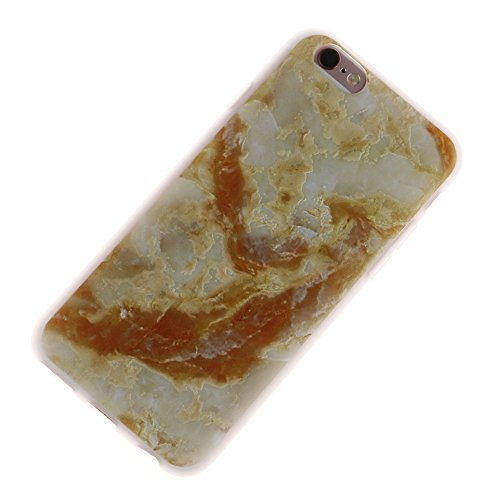 "MOONCASE iPhone 6/iPhone 6s Coque, [3D Relief Style] Étui Housse Slim Fit Résilient TPU Anti-rayures Anti-choc Protection Case pour iPhone 6/iPhone 6s 4.7"" Elephant Marble"