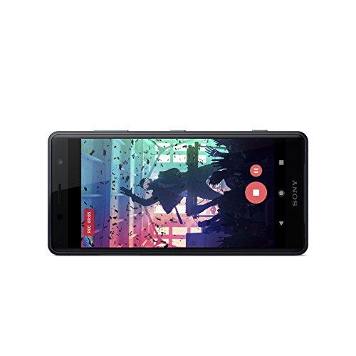 Sony Xperia XZ2 Compact - Smartphone de 5   Octa-core de 2 8 GHz  RAM de 4 GB  memoria interna de 64 GB  c  mara de 19 MP  Android  color negro  Exclu
