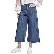 Urban Classics Damen Hose Ladies Denim Culotte b88ad35016
