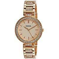 Fossil Analog Rose Gold Dial Women's Watch - BQ3181