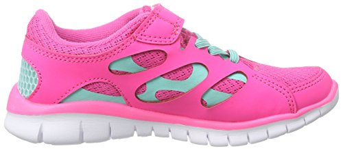 Kappa Mädchen Fox Light Kids Low-Top Pink (2765 l'pink/ice)