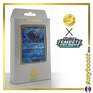 Wailord 40/168 Holo Reverse - #myboost X Soleil & Lune 7 Tempête Céleste - Box de 10 Cartas Pokémon Francés