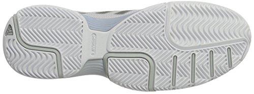 adidas Damen Barricade Club Tennisschuhe Weiß (Ftwr White/silvermetallic/core Pink)
