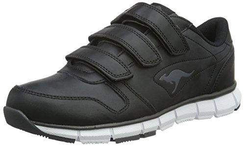 Kangaroos K-bluerun 700 V B, Unisex Adults' Low-Top Sneakers, Black (Black/dk Grey 522), 6.5 UK (40 EU)