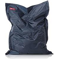 ROOMOX XXL Beanbag, Tela, Azzurro Scuro, 160x120x30 cm