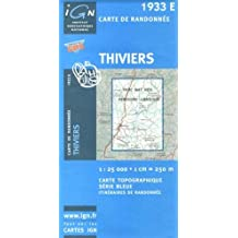Thiviers: IGN1933E