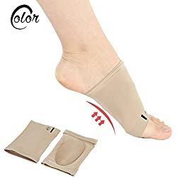 SBE Sleeve Heel Spurs Arch Support Orthotic Plantar Fasciitis Cushion Pad Flat Feet Orthopedic Pad Correction Insoles Foot Care Tool