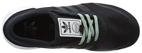 adidas Los Angeles, Bottes Classiques Mixte Enfant Noir (Core Black/core Black/ftwr White)