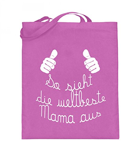 Borsa In Juta Di Alta Qualità (con Manici Lunghi) - Migliore Mamma Rosa