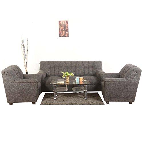 Roman Living Hastings 5-Seater Sofa Set - Grey