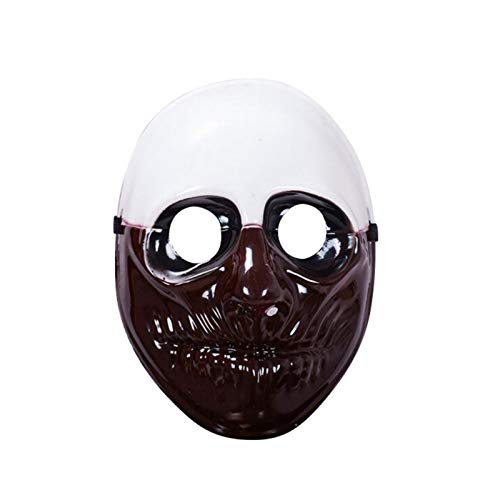 HITSAN INCORPORATION Halloween Mask for Party Mascara Carnaval Party Mask Masqu PVC Scary Clown Mask Payday