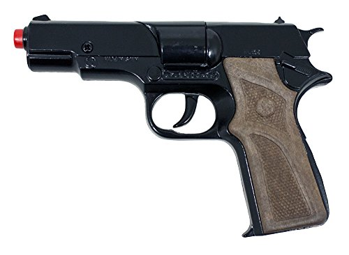 Cia Agent Kostüm - Gonher 125/6-8-Schuss Pistole Police - zum Kostüm Polizist FBI oder CIA Agent