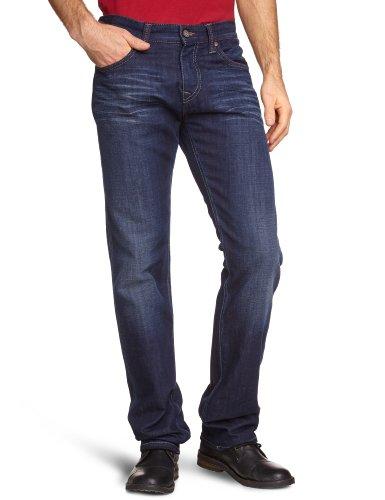 Mavi Herren Jeans, Blau (11170 Pierre deep Cloud Denim), 34 Ag Jeans Low Rise Jeans