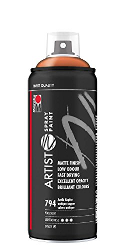 Marabu 21100018794 - Artist Spray Paint, 400 ml, Antik kupfer