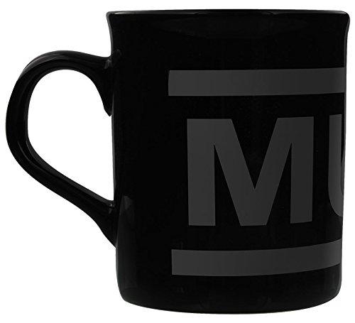 Muse Tasse Logo schwarz. Offiziell lizenziert -