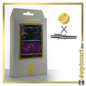 Nidoking 59/181 Holo Reverse - #myboost X Sole E Luna 9 Gioco di Squadra - Box de 10 Cartas Pokémon Italiano