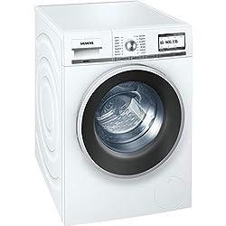 Siemens WM14Y74A iQ800 Waschmaschine Frontlader / A+++ B / 1400 UpM / 8 kg / Weiß / iQdrive-Motor / Senorgesteuerte-Automatikprogramme