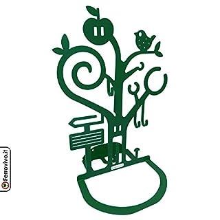 ferrovivo® Ambrogio Jewellery Tray–Metal Dark Green
