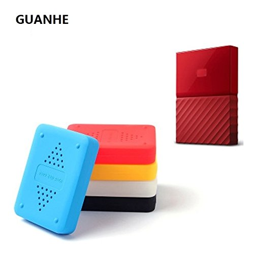 guanhe shake-proof drop-resistance Elastic Silikon Gummi Case für WD My Passport (2t Portable Hard Drive)