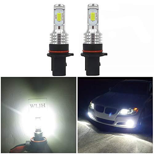 Wljh Lighting super luminoso P13W LED fari ad alta potenza nuova versione 3570csp-chip per Automotive auto camion DRL guida luci LED fendinebbia lampadine di ricambio 6000K bianco (confezione da 2)