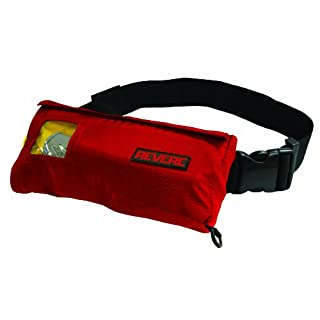 REVERE COMFORTMAX INFLATABLE MANUAL BELT PACK RED