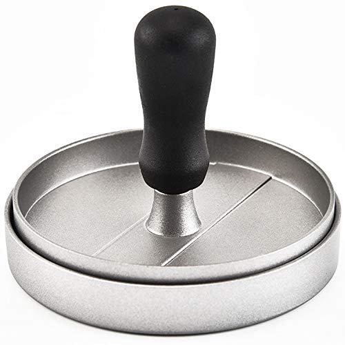 Youtaimei Zufriedenstellendes Produkt Fleisch-Form-Hochleistungs-Antihaft-Burger-Presse-Rindfleisch-Grill Macht Pastetchen für Schieberegler Selbst gemachte Grill-Eisen-Küche