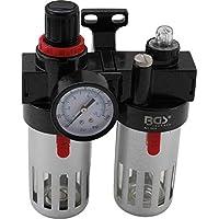 BGS 8603 | Filtro / lubricador de aire con regulador de presión