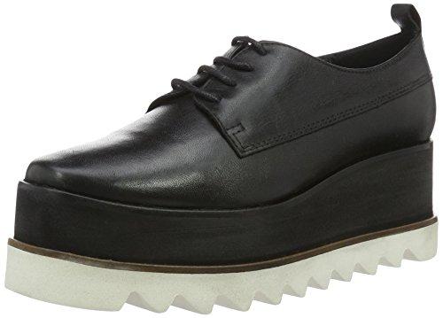 Shoe Biz Bonitta, Scarpe Oxford Donna, Nero (Velvet Black), 40 EU