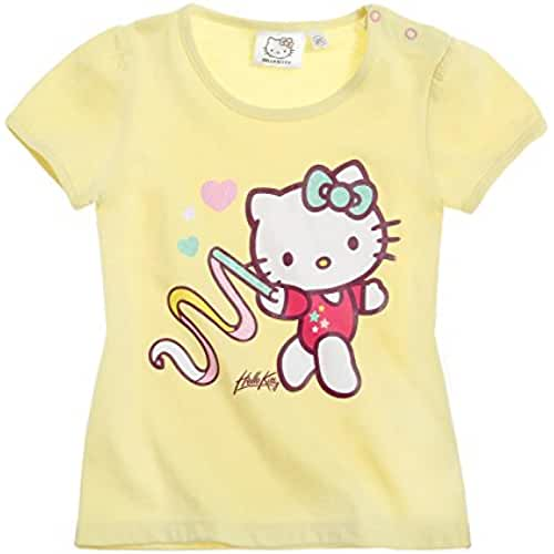 Hello Kitty Babies Camiseta manga corta 2016 Collection - Amarillo