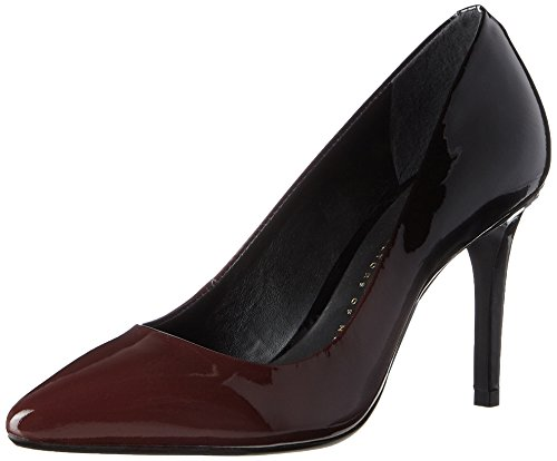 Bronx Damen BX 1245 Bcotex Pumps, Schwarz (Ruby/Black), 38 EU