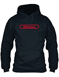 teespring Men's Novelty Slogan Hoodie - Clarence The Name to Be Remembered