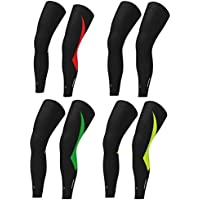 TianranRT Unisex Cycling Bike Bicycle UV Sun Protection Leg Warmers Stretchy Arm Sleeve Warmer Protector Windproof