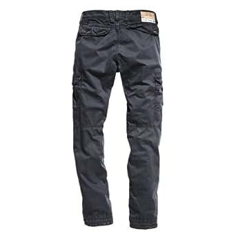Timezone Herren Hose 26-0137 Harris cargo pants, Gr. 29/32, Grau (blue graphite 9033)