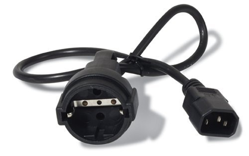 APC Stromkabel IEC 320 C14 auf SCHUKO (Computer-backup-system)