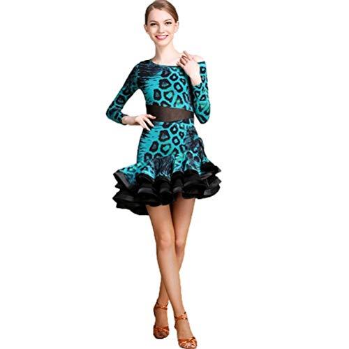 Mujeres Vestidos De Baile Latino Samba Tango Mangas
