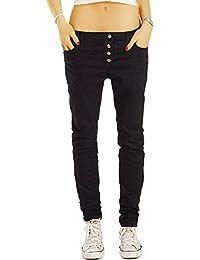 Bestyledberlin Damen Boyfriend-Jeans, Loose Fit Jeans, Bequeme Baggy Jeans j28g