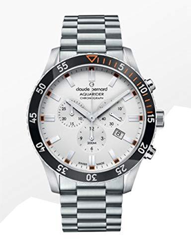 Claude Bernard by Edox Aquarider Men's Watch 10223.3NOM.AO Chronograph Swiss